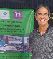 Kevin's volunteering trip for a rabies vaccine and neutering program in Thailand.